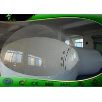 Buy cheap Custom Clear Inflatable Bubble Tent , Outdoor Inflatable Tent For Camping product