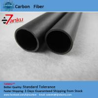 High Strength 3k Carbon Fiber Pipe Corrosion Protection For Machine Parts