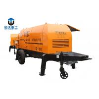 Buy cheap HBT8013 Stationary Mini Diesel Concrete Pump Ready Mix Concrete Pump product