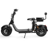 Buy cheap 60V 12Ah Motorcycle Two Wheel Scooter Electric Citycoco Removable Battery E5-10 from wholesalers