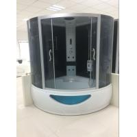 Buy cheap 150 X 150 X 220cm Complete Shower Enclosures Steam Room Double Shower Cabin With Tray product