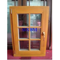 Quality Space Saving Timber Casement Windows , Safety Wooden Double Glazed Windows for sale