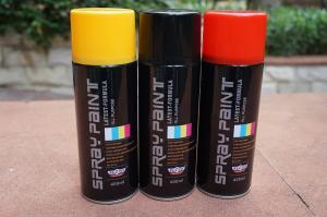 Buy cheap Solvent Automotive Base Coat Aerosol Transparent Spray Paint For Plastic product