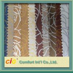 Buy cheap Crocodile Grain PVC Artificial Leather / Fake Leather Fabric For Handbag / Car Upholestery product