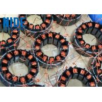 China automatic 2 stations needle coil winding technology machine for multi-pole BLDC motor stator on sale