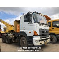Buy cheap 6X4 Type Used Tractor Head Hino 700 Series Prime Mover 450hp Horsepower product