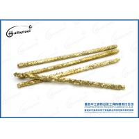 China Wear Resistance Carbide Welding Rod For Coal Mining Surfacing Welding on sale