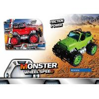Buy cheap Popular Friction Powered Off Road Jeep Toy Car For Kids 4 Style 8 Colors product