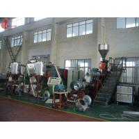Low energy Green Planetary Roller Extruder for PVC Plastic , pelletizing machinery