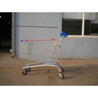 Buy cheap 232L Zinc Plated Supermarket Shopping Cart Trolley High Capacity product