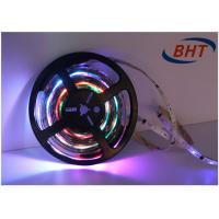 China Remote Control Full Color Led Strip 3m DC12V Adhesive Backing Battery Powered on sale