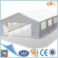 Buy cheap 6 x 6M Party Wedding Tent Gazebo Canopy Event Marquee White Outdoor Pavilion WH product