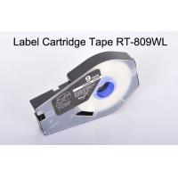 Buy cheap consumables cassette Label Tape Cartridge RT-809WL commercial heat Resistant product