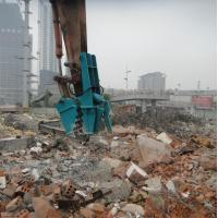China Concrete demolition tools excavator small rock crusher for sale on sale