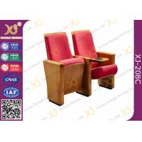 Buy cheap Rectangular Shape Auditorium Chiars USB Plywood Outerback With MDF Tablet         product