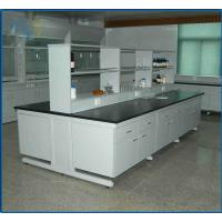 Buy cheap Chemical Resistant Modular Laboratory Furniture , Lab Bench Table 19mm Epoxy Resin product