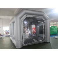 Buy cheap Custom Small Portable Mobile Inflatable Spray Booth For Car Maintaining product