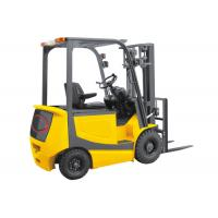 Buy cheap 2.5 Ton 4 Wheel Electric Forklift Truck Battery Operated With Seat Energy Saving product