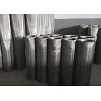 Alloy Stainless Steel Woven Wire Mesh , Woven Stainless Steel Cloth