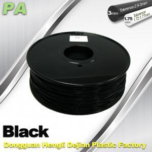 Buy cheap 3D Printer Filament 3mm 1.75mm Black Nylon Filament PA Filament product