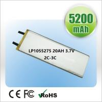Buy cheap OEM Polymer Lithium Ion Batteries 2500mAh  3.7V For Small Medical Device product