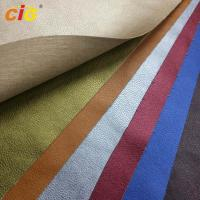 Buy cheap Waterproof Knitted Synthetic Leather Material For Bag Leather / Shoes product
