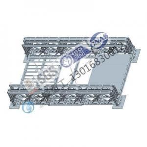Buy cheap American AASHTO Standard Steel Bailey Bridge Panel Dimension On 3.048M *1.45M from wholesalers
