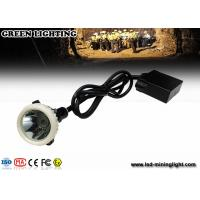 Buy cheap GL5-A LED Mining Light With 6.8Ah Li-Ion Battery , 4000lux High Brightness Mining Headlamp from wholesalers