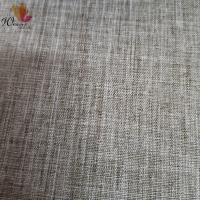 Buy cheap Simulated linen polyester fabric for sofa cushions from wholesalers