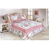Buy cheap Pink Color Full Size Comforter Sets Home Textile Printed Quits With Frame ISO9001 product