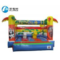 Buy cheap Outdoor PVC Inflatable Jungle Castle Jumping Bouncer for Kids from wholesalers