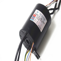 Buy cheap 25.4mm through bore slip ring with 2 groups 1000M Ethernet,used for military from wholesalers
