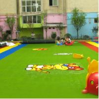 Buy cheap Kindergarten Indoor Outdoor Grass Turf 4*25m 2*25m Or Size Customized product