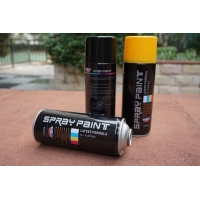 Buy cheap SGS Gold Water Based Acrylic Spray Paint 400ml Strong Covering Power product