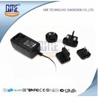 Buy cheap Wall Mount AC DC Power Adapter 12v 2a With Interchangeable Plugs PSE UL GS Approved product
