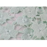 Chemical Polyester Lace Fabric 3D Embroidery Guipure French Venice lace For Dress