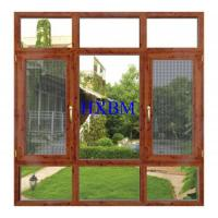 Buy cheap German Style Timber Doors And Windows , 68mm Frame Wood Casement Windows product