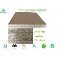 Buy cheap China factory wholesale cheap water proof F4 star 6'X8' 18MM raw particleboard from wholesalers