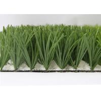 Buy cheap Pile Height 50mm Soccer Artificial Grass 10000Dtex Bi-color best seller from wholesalers