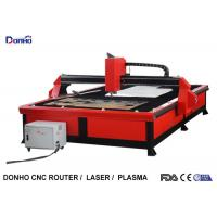 Buy cheap Red Color Plasma Metal Cutting Machine with 2000 mm x 3000 mm Working Size product