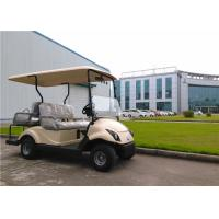 2+2 Seater Golf Electric Cart , 4 Passenger Street Legal Golf Carts With DC Motor