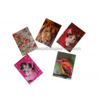 Buy cheap Small Size Adhesive 3D Lenticular Stickers PET/ PP Printing For Key Chain product