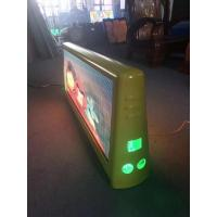 Buy cheap NEW product 2019 taxi top led sign with waterproof double side full color video product