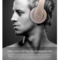 China Bluetooth Headphones, Portable Stereo Wireless Headset with Mic Over-Ear Noise Isolation Earphones Support TF Card for P on sale