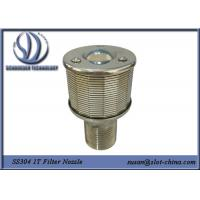 Buy cheap Filter Nozzle 1T Filtration Ability Stainless Steel 304 With 0.18mm Gaps product