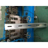 Buy cheap Hydraulic Cutter Perforated Shutter Door Roll Forming Machine With Automatic Punching System product