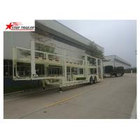 Buy cheap Auto Transportation Car Carrier Trailer 40t Max Payload With 450mm Height I Beam from wholesalers