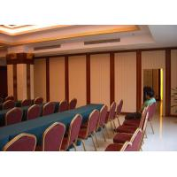 Buy cheap Acoustical Mobile Folding Sliding Partition / Classroom Wall Partitions from wholesalers