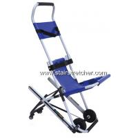 Buy cheap Disabled Carrying Emergency Stair Chair Safety Four Wheel Blue product