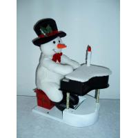 Buy cheap 11Inch Musical Snowman Playing the Piano Toddler Electronic Toys for Christmas Decor from wholesalers